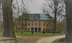 Pałac w Kruszynie - stan obecny