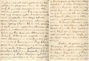 zdjęcie notatek dziadka z 1933 roku