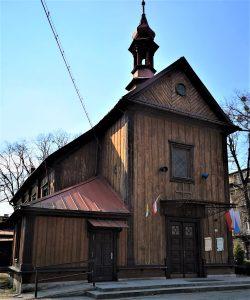 Stary kościółek św. Józefa - obecnie przy ulicy Ogrodowej